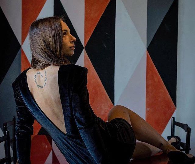 Moqette Velvet dress da Caramelo…
